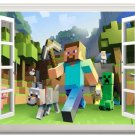 Wall Mural Minecraft #02 Photo Mural Wall Stickers Minecraft Black Glue Paper
