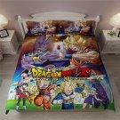 2019 Queen Size 3pcs Dragon Ball Z #01 bedding set duvet cover pillow cases