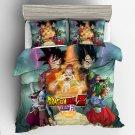 2019 Queen Size 3pcs Dragon Ball Z #02 bedding set duvet cover pillow cases