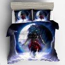 2019 Queen Size 3pcs Dragon Ball Z #04 bedding set duvet cover pillow cases