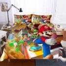 2019 Twin Size 3 pcs Super Mario #02 bedding set duvet cover pillow cases