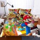 2019 King Size 3pcs Super Mario #02 bedding set duvet cover pillow cases