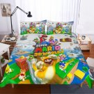2019 Queen Size 3pcs Super Mario #03 bedding set duvet cover pillow cases