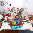 2019 Twin Size 3 pcs Super Mario #04 bedding set duvet cover pillow cases