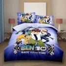 Full Size 3pcs Ben 10 #02 Cartoon bedding set duvet cover bed sheet pillow cases