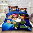 Full Size 3pcs Ben 10 #03 Cartoon bedding set duvet cover bed sheet pillow cases