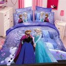 Single Size 3pcs #02 Disney Frozen bedding set duvet cover bed sheet pillow cases