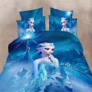 Single Size 3pcs #04 Disney Frozen bedding set duvet cover bed sheet pillow cases