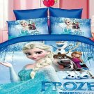 Single Size 3pcs #05 Disney Frozen bedding set duvet cover bed sheet pillow cases