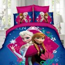 Single Size 3pcs #07 Disney Frozen bedding set duvet cover bed sheet pillow cases