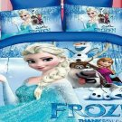 Twin Size 3pcs #05 Disney Frozen bedding set duvet cover bed sheet pillow cases