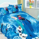 Twin Size 3pcs #06 Disney Frozen bedding set duvet cover bed sheet pillow cases