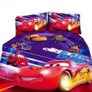 Twin Size 3pcs Lightning McQueen #05 bedding set duvet cover bed sheet pillow cases