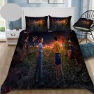 Queen Size 3 pcs #03 Stranger Things Movie bedding set duvet cover pillow cases