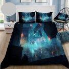Queen Size 3 pcs #04 Stranger Things Movie bedding set duvet cover pillow cases