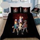 King Size 3 pcs #05 Stranger Things Movie bedding set duvet cover pillow cases