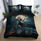 New King Size 3 pcs #01 The Nightmare Before Christmas bedding set duvet cover pillow cases