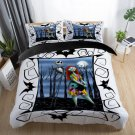 Queen Size 3 pcs #04 The Nightmare Before Christmas bedding set duvet cover pillow cases