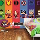 3D Lego Marvel's Avengers Wall Comics 23A Movie Photo Mural Wallpaper