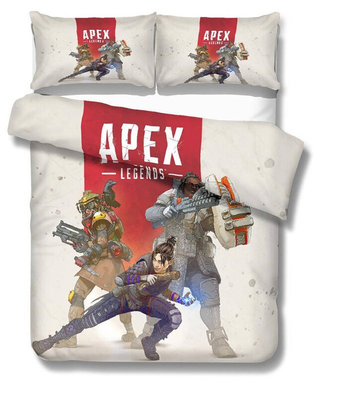 Apex Legends Game Full Size 3pcs #01 bedding set duvet cover pillow case