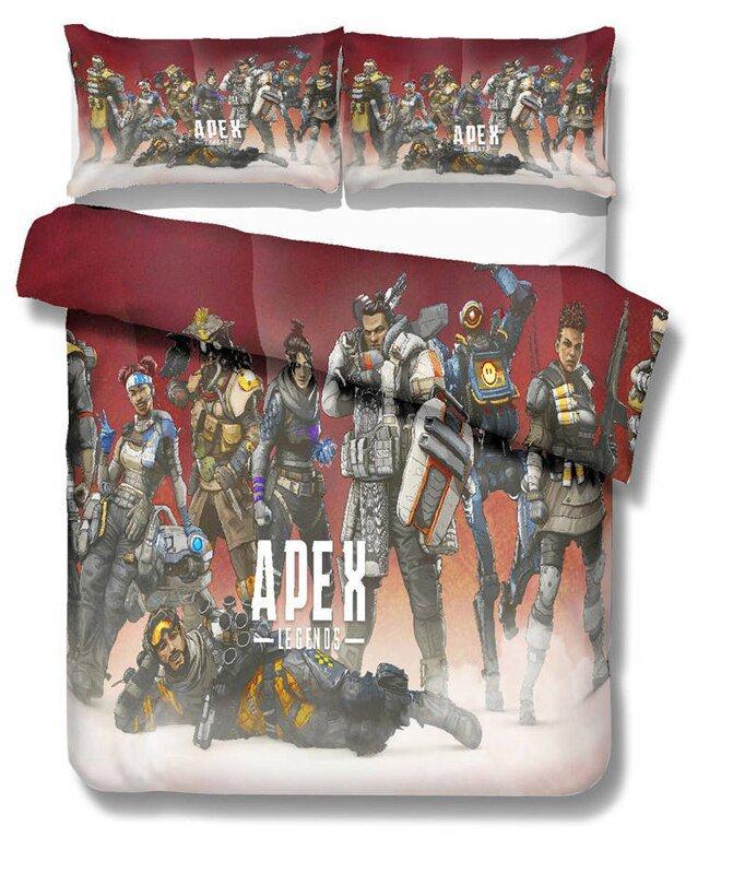 Apex Legends Game Queen Size 3pcs #07 bedding set duvet cover pillow case