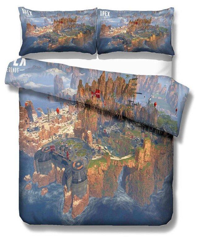 Apex Legends Game king Size 3pcs #06 bedding set duvet cover pillow case