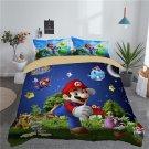 New full Size Super Mario #01 bedding set duvet cover pillow cases