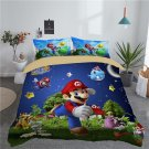 New king Size Super Mario #01 bedding set duvet cover pillow cases