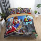 New single Size Super Mario #05 bedding set duvet cover pillow cases