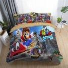 New full Size Super Mario #05 bedding set duvet cover pillow cases