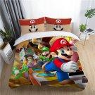 New single Size Super Mario #06 bedding set duvet cover pillow cases
