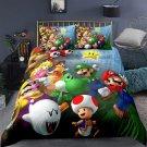 New queen Size Super Mario #07 bedding set duvet cover pillow cases
