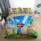 New single Size Super Mario #09 bedding set duvet cover pillow cases