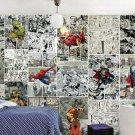 3D Marvel's Avengers Wall Comics 30 Movie Photo Mural Wallpaper