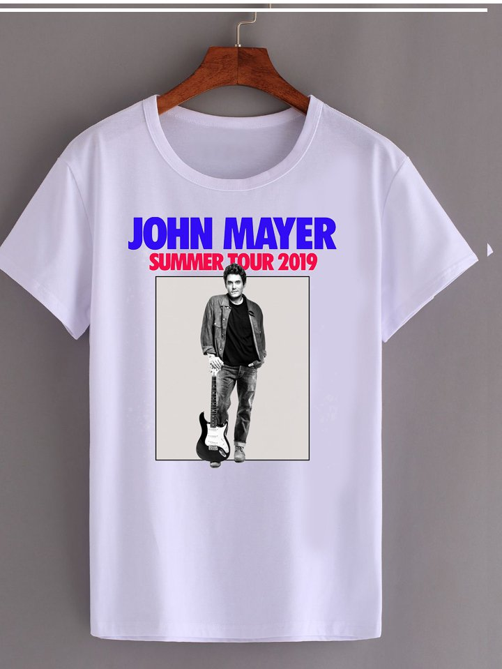 Jhon Mayer Summer Tour 2019  tee