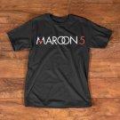 MAROON 5 COSTUM BLACK TEE