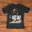 NATE DIAZ MIXED MARTIAL ART COSTUM T SHIRT BLACK