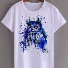 PAINTING ART5 WHITE T SHIRT UNISEX