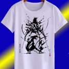 SAMURAI SWORD ART WHITE T SHIRT ALL SIZE