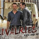 Topps The Walking Dead Season 7 Trading Card Rivalries #R-1 Rick vs. Negan