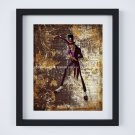 """Doctor Facilier ~ Princess and the Frog Dictionary Digital Art Print ~ 8"""" x 10"""""""