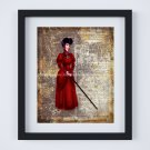 "Lady Tremaine ~ Cinderella Dictionary Digital Art Print ~ 8"" x 10"""