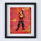 "Gaston ~ Beauty and the Beast Dictionary Digital Art Print ~ 8"" x 10"" ~ Belle"