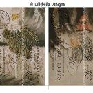 Louis Icart - 5 x 7 inch Color Postcards - Vintage Style - 2 total