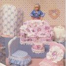 Model Home ~ Sew free - Barbie Furniture - Digital Pattern - Color PDF ~ Digital Download