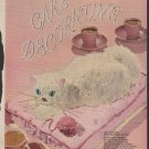 1957 Vintage Good Housekeeping's New Book of Cake Decorating Magazine Pages ~ 23 Cakes