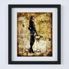 "Catwoman ~ DC Comics Dictionary Digital Art Print ~ 8"" x 10"" - Selina Kyle - Anne Hathaway"