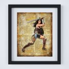 "Wonder Woman ~ DC Comics Dictionary Digital Art Print ~ 8"" x 10"" Justice League - Diana Prince"