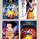 Snow White and Seven Dwarfs - 3.5 x 5 inch Color Postcards - Vintage Stamped - 12 total