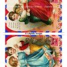 Valentine's Day - 5 x 7 inch Color & Sepia Airmail Postcards ~ Ellen Clapsaddle